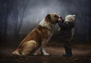 DogChildByElenaShumilova