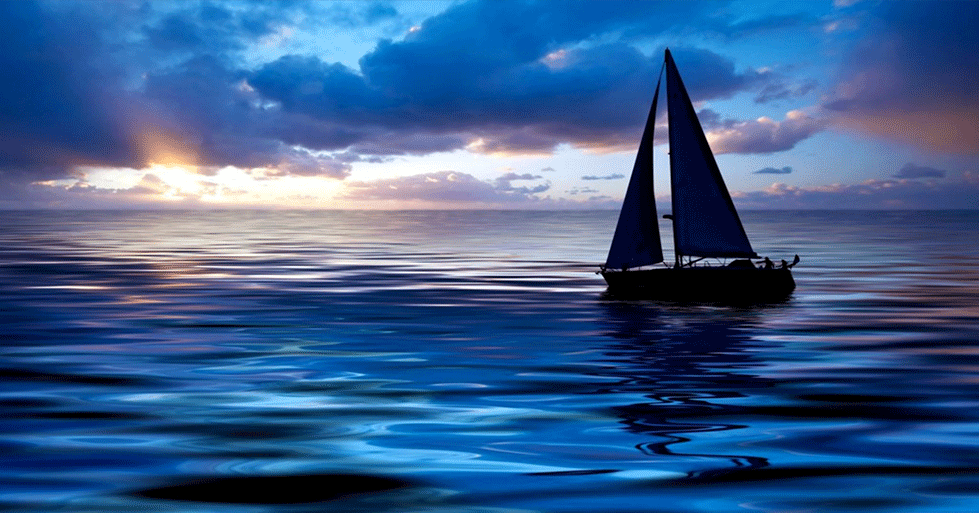 Sailboat Calm Sea