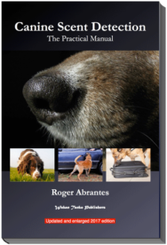 Canine Scent Detection Book Cover -384x563